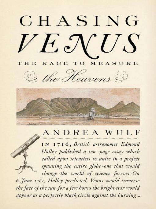 Title details for Chasing Venus by Andrea Wulf - Available