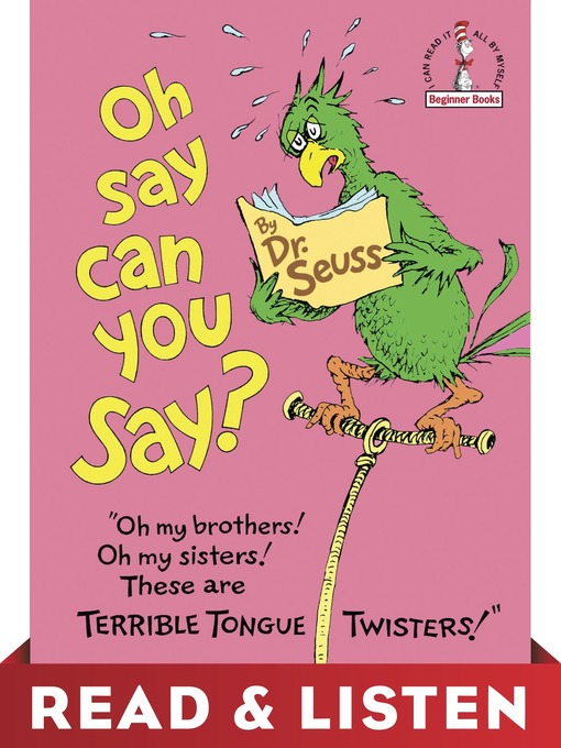 Title details for Oh, Say Can You Say? by Dr. Seuss - Available