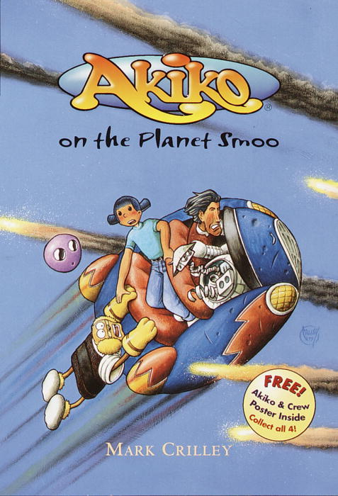 Cover of Akiko on the Planet Smoo