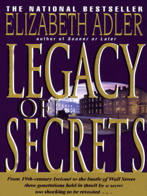 Title details for Legacy of Secrets by Elizabeth Adler - Available
