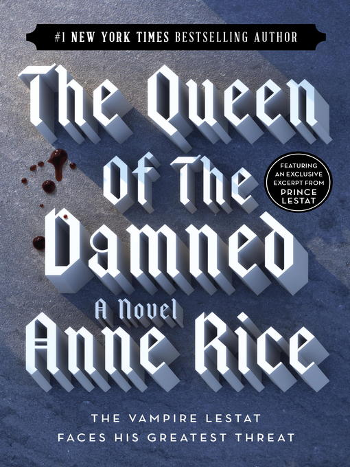 Title details for The Queen of the Damned by Anne Rice - Wait list
