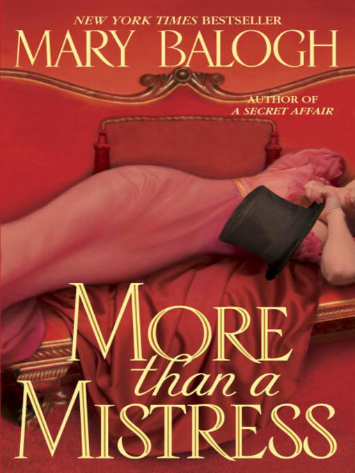 Title details for More than a Mistress by Mary Balogh - Available