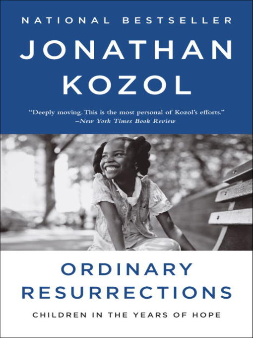 amazing grace by jonathan kozol the lives of children and the conscience of a nation In his new book, amazing grace: the lives of children and the conscience of a nation, kozol, with sparing eloquence, lets the people themselves--the children, parents, teachers, and pastors--tell.