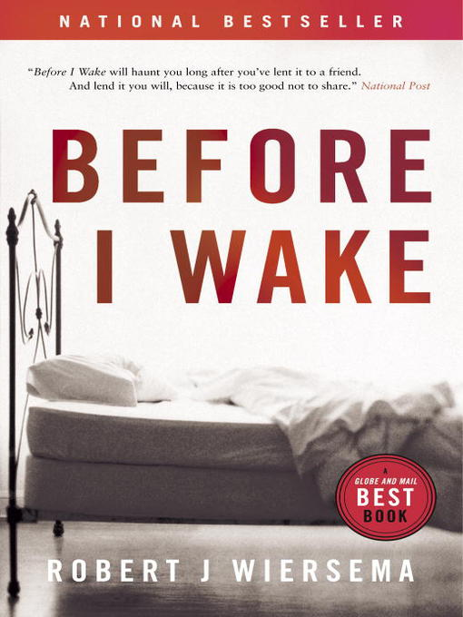 Cover of Before I Wake