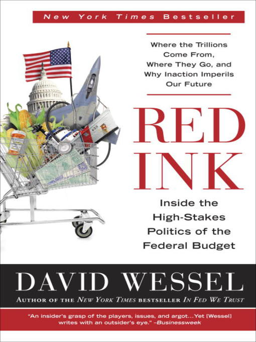 Title details for Red Ink by David Wessel - Available
