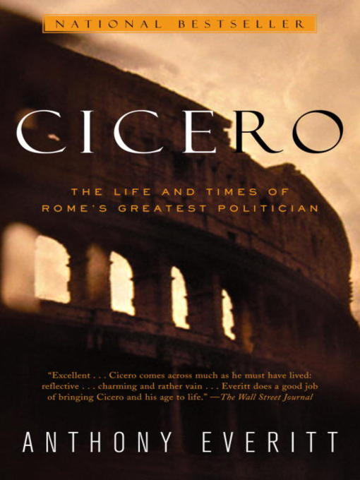 Title details for Cicero by Anthony Everitt - Available