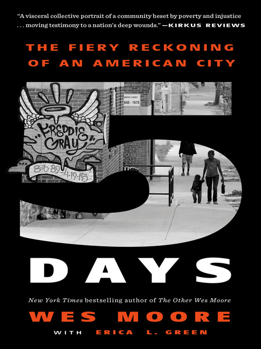 Title details for Five Days by Wes Moore - Wait list