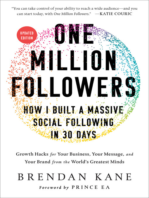 Title details for One Million Followers by Brendan Kane - Available