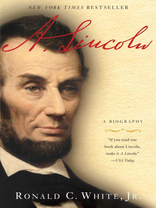 Title details for A. Lincoln by Ronald C. White - Wait list