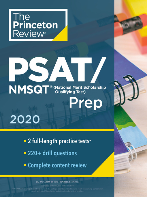 Title details for Princeton Review PSAT/NMSQT Prep, 2020 by The Princeton Review - Available