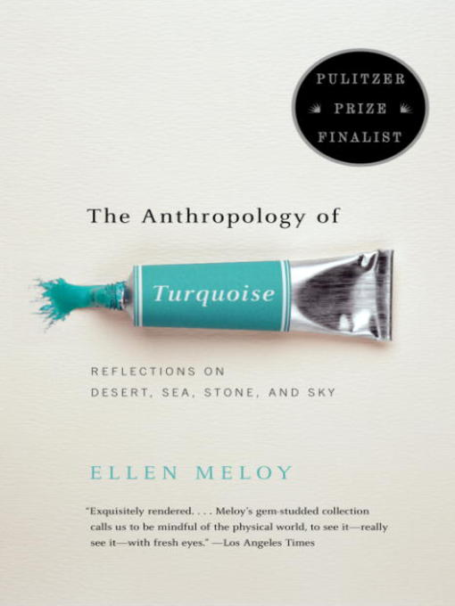 Title details for The Anthropology of Turquoise by Ellen Meloy - Wait list