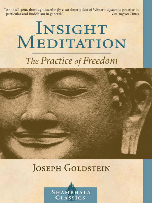 Cover of Insight Meditation