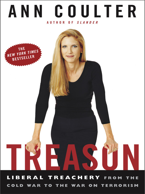 Title details for Treason by Ann Coulter - Available