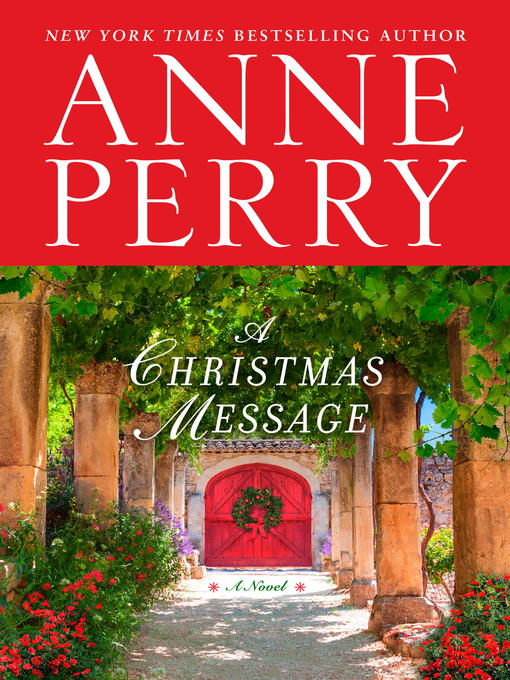 Title details for A Christmas Message by Anne Perry - Wait list