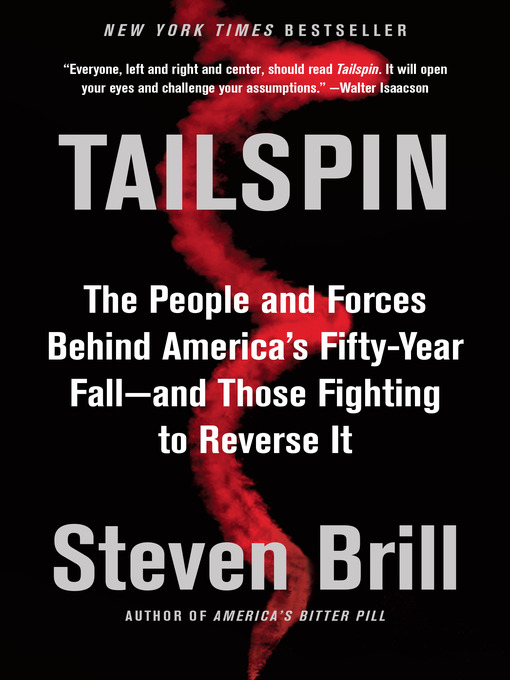 Title details for Tailspin by Steven Brill - Available