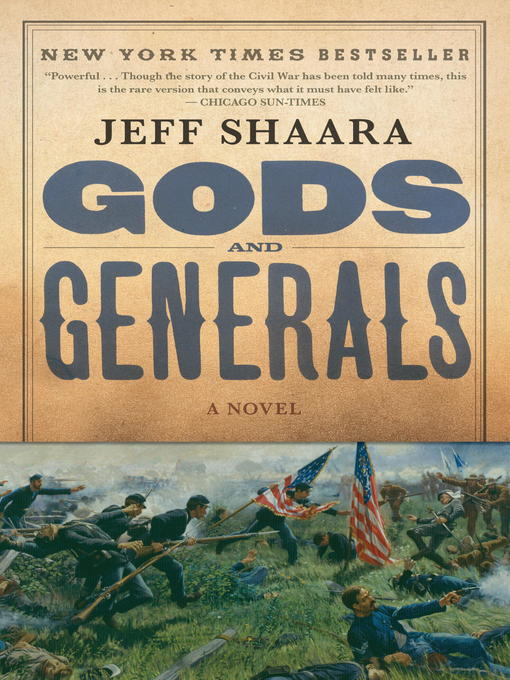 Title details for Gods and Generals by Jeff Shaara - Wait list