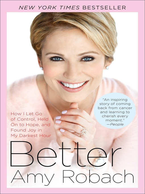 Title details for Better by Amy Robach - Available
