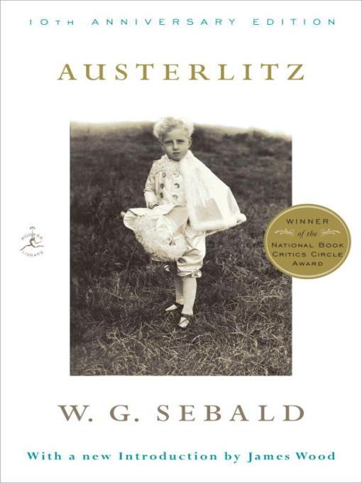 Title details for Austerlitz by W.G. Sebald - Available