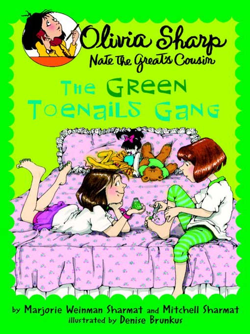 Cover image for The Green Toenails Gang