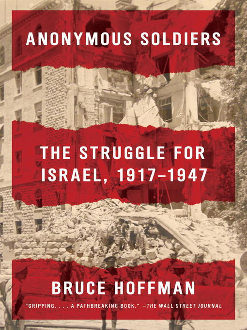 Title details for Anonymous Soldiers by Bruce Hoffman - Available