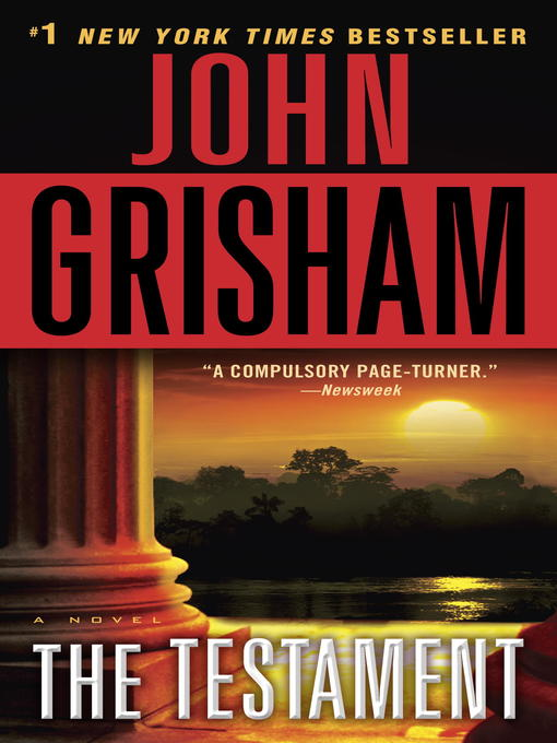 Title details for The Testament by John Grisham - Wait list