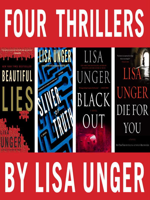 Title details for Four Thrillers by Lisa Unger by Lisa Unger - Wait list