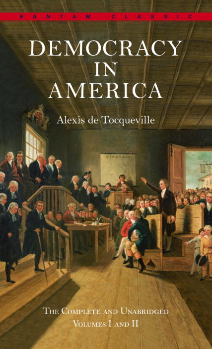 tocqueville s democracy in america theme of
