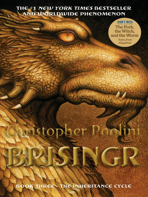 Title details for Brisingr by Christopher Paolini - Available