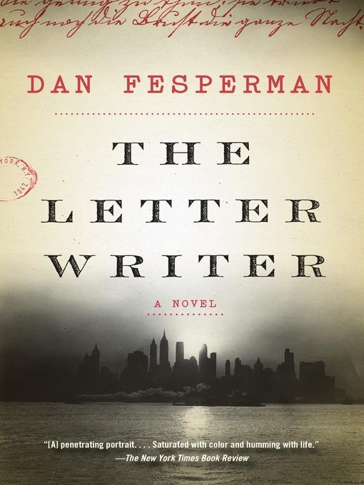 Title details for The Letter Writer by Dan Fesperman - Wait list