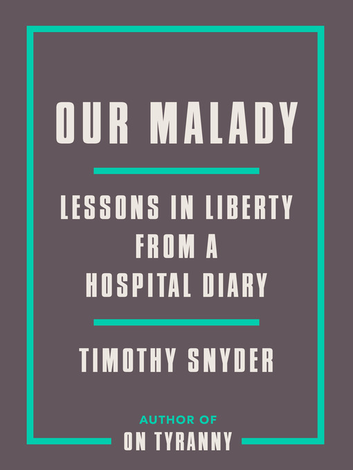 Cover image for Our Malady