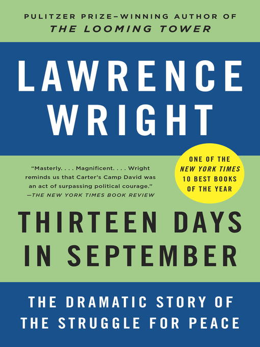 Title details for Thirteen Days in September by Lawrence Wright - Available