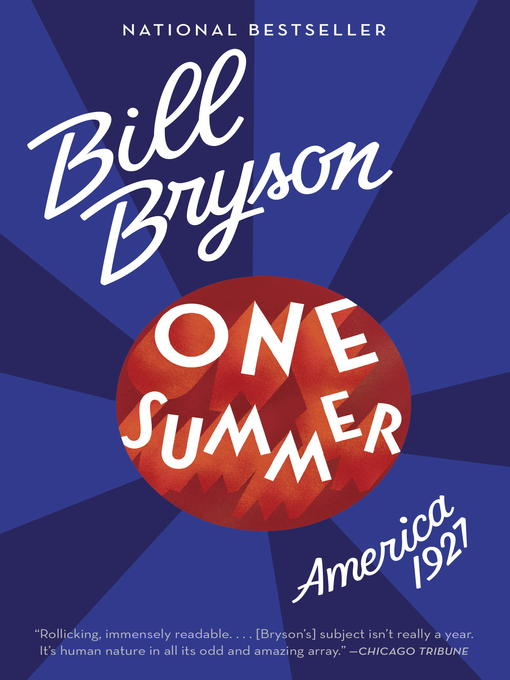 Title details for One Summer by Bill Bryson - Wait list