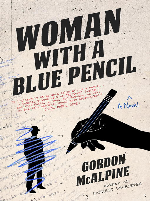 Cover of Woman with a Blue Pencil