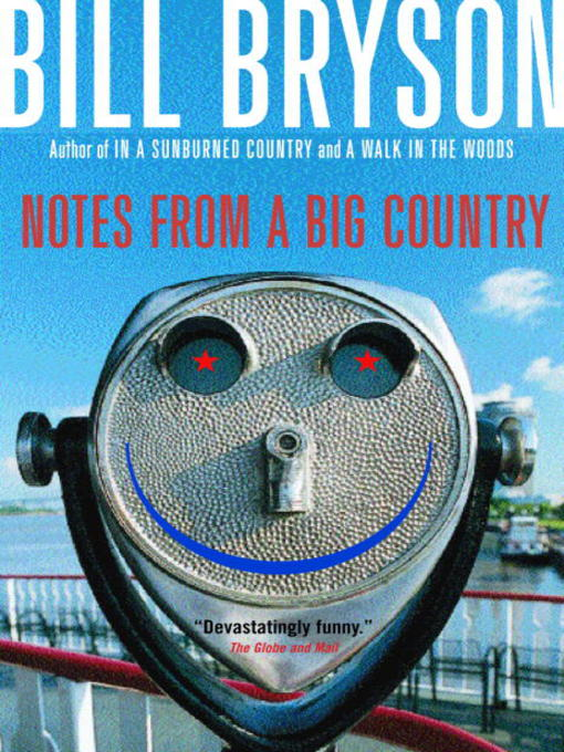 Cover image for Notes From a Big Country