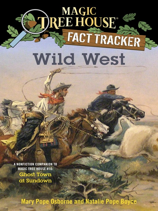 Title details for Wild West by Mary Pope Osborne - Wait list