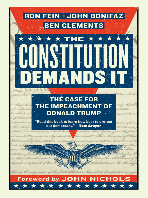 Title details for The Constitution Demands It by Ron Fein - Available
