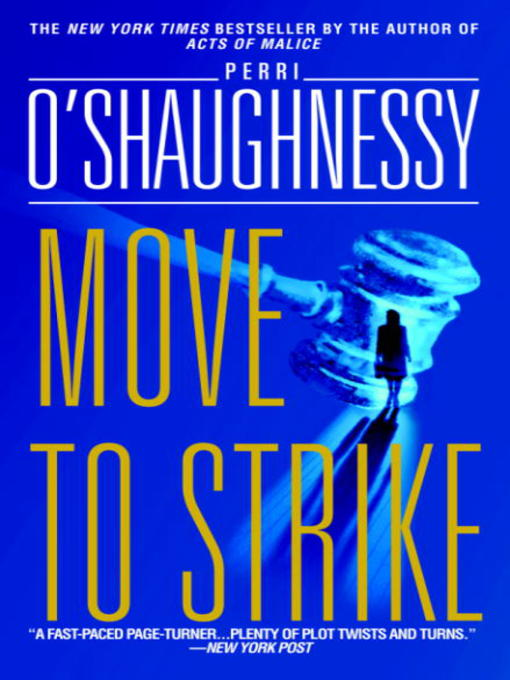 Title details for Move to Strike by Perri O'Shaughnessy - Available