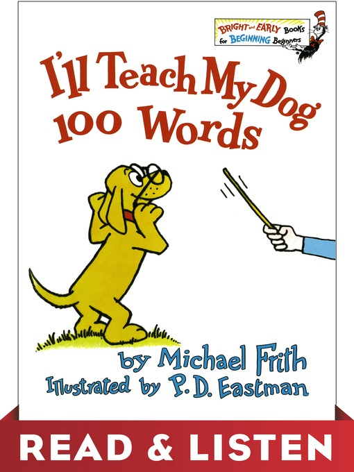 Cover of I'll Teach My Dog 100 Words