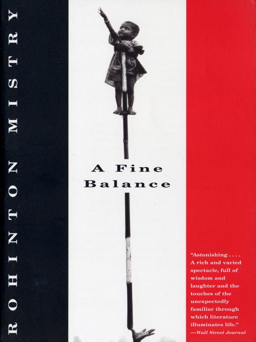 Title details for A Fine Balance by Rohinton Mistry - Wait list