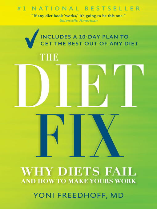 Title details for The Diet Fix by Yoni Freedhoff M.D. - Available