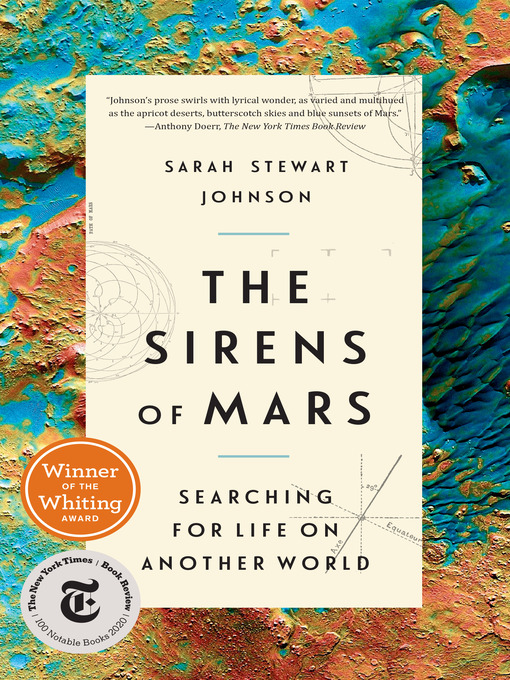 Title details for The Sirens of Mars by Sarah Stewart Johnson - Wait list