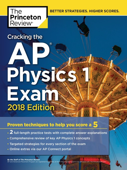 Cracking the AP Physics 1 Exam, 2018 Edition - Wisconsin Academic