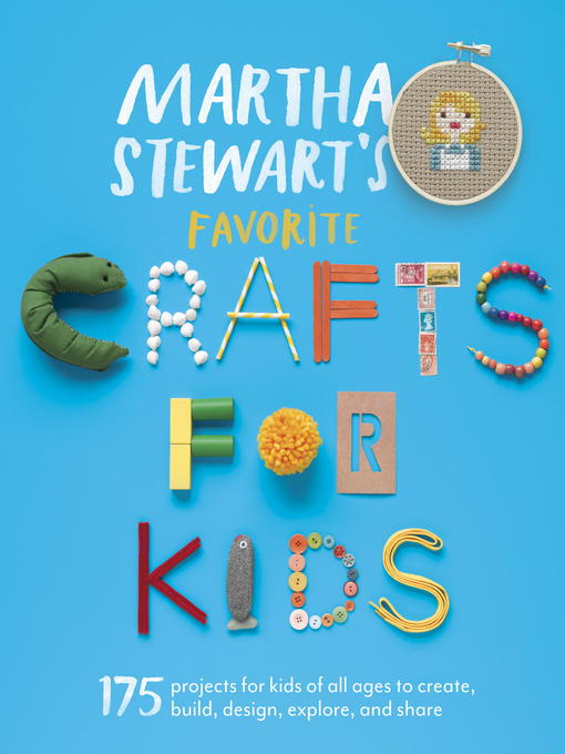 Cover of Martha Stewart's Favorite Crafts for Kids