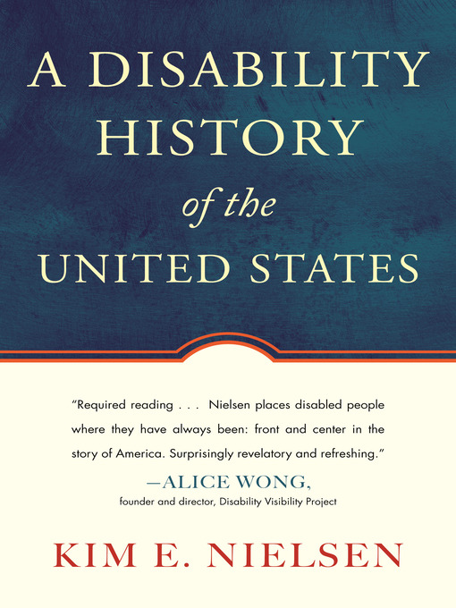 Cover image for A Disability History of the United States