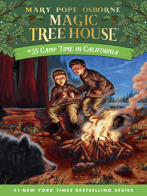 Title details for Camp Time in California by Mary Pope Osborne - Wait list