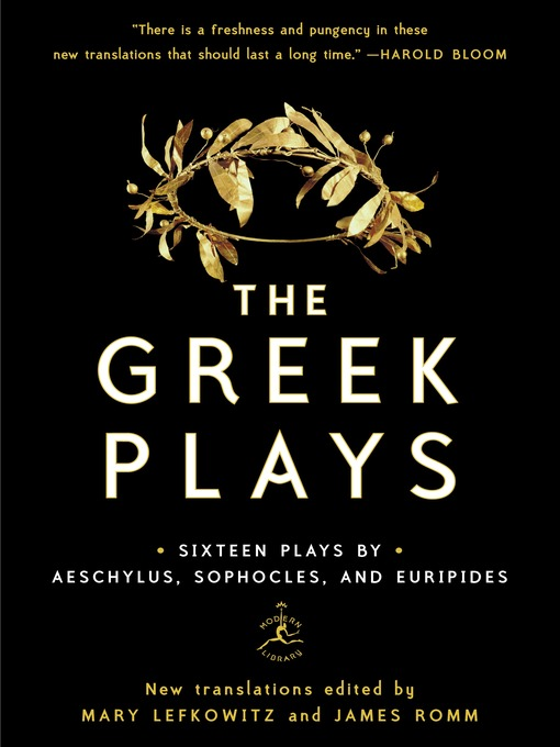 Title details for The Greek Plays by Mary Lefkowitz - Available