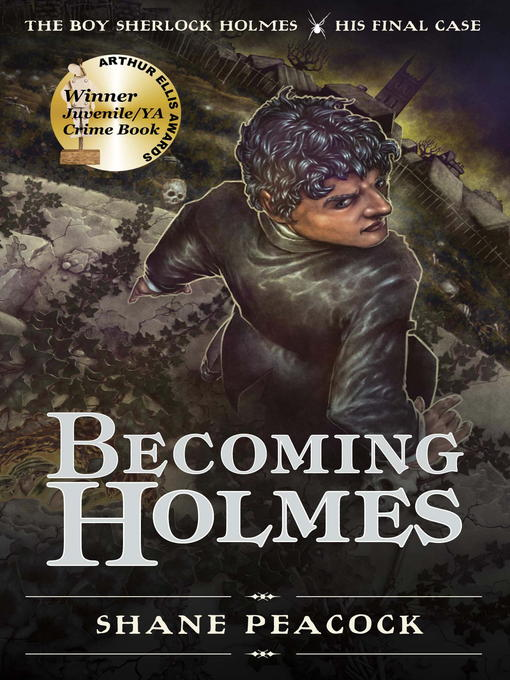 Title details for Becoming Holmes by Shane Peacock - Wait list