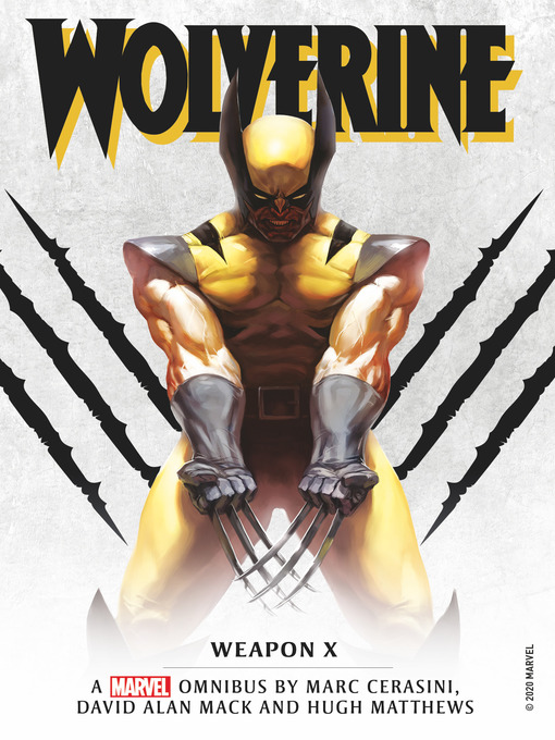 Title details for Marvel Classic Novels--Wolverine by Marc Cerasini - Available