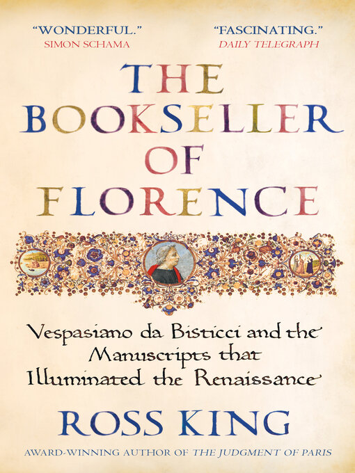 Title details for The Bookseller of Florence by Ross King - Wait list