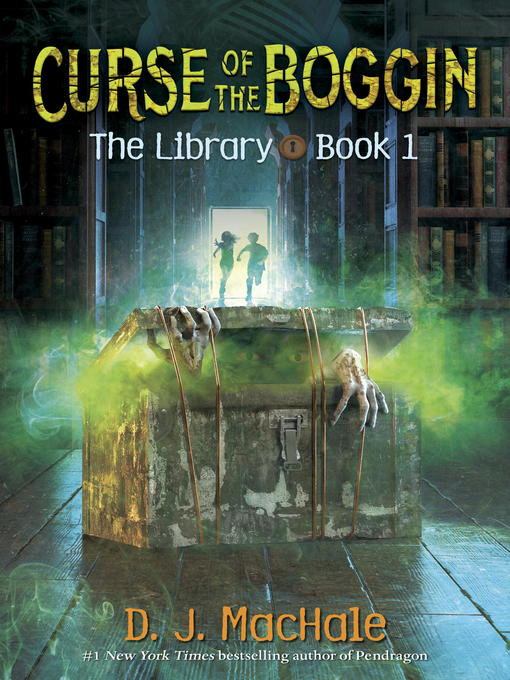 Cover of Curse of the Boggin (The Library Book 1)